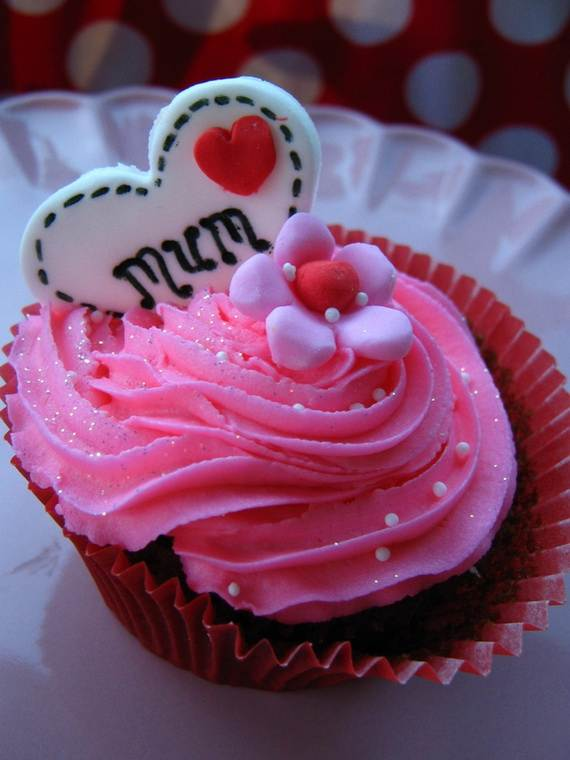 Cupcake Decorating Ideas For Mothers Day Family Holiday