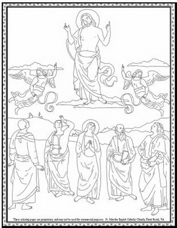 works of mercy coloring pages - photo#21