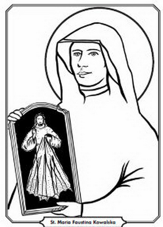 divine mercy coloring page_52