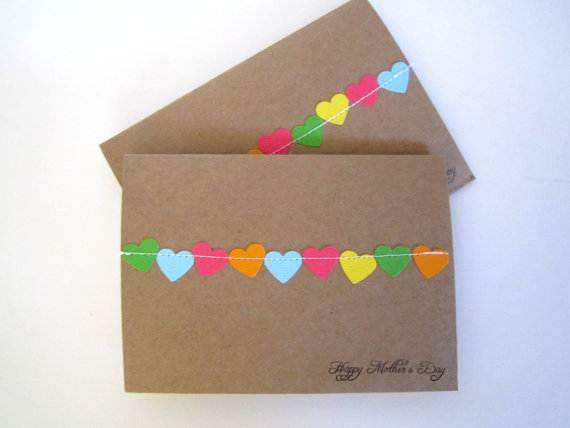 Handmade Mothers Day And Birthday Card Ideas family holiday – Simple Handmade Birthday Cards
