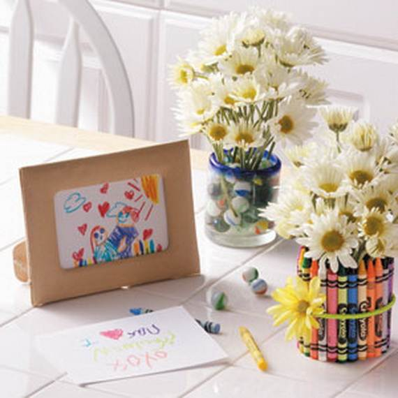 homemade craft gift ideas for mothers day family holiday On homemade craft gift ideas