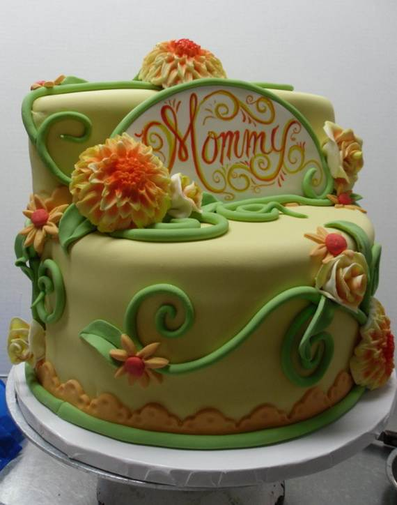 Mothers Day Cake Design_ _14
