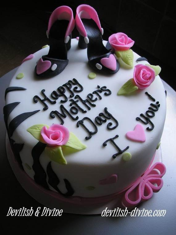 Cake Designs Mother S Day : Mothers-Day-Cake-Design_14