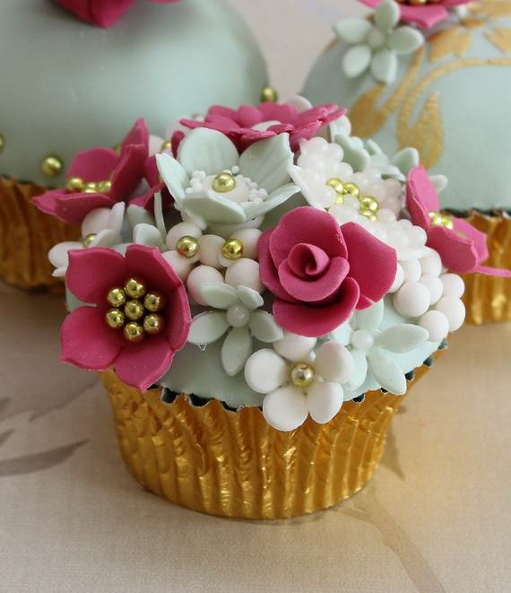 Mothers Day Cupcake Ideas: 50 Cool Decorating Ideas