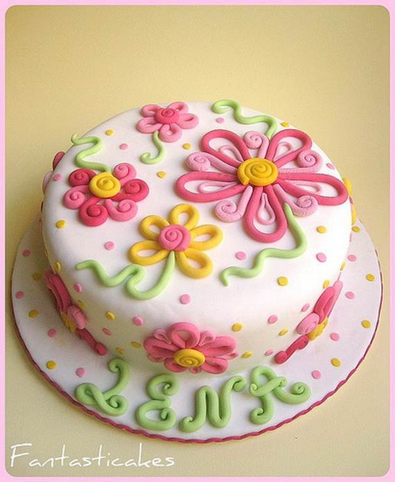 Cake Decorating Party Ideas : Spring Theme Cake Decorating Ideas - family holiday.net ...