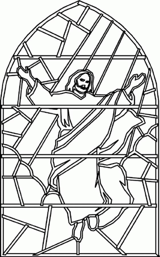 ascension coloring pages of jesus - photo#22