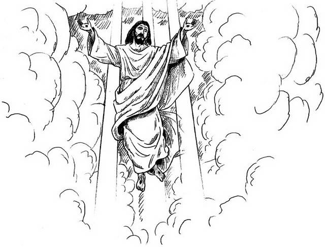 Ascension of Jesus Christ Coloring Pages - family holiday.net/guide ...