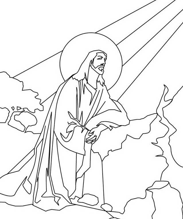 Ascension Of Jesus Christ Coloring Pages Family Holiday Jesus Coloring Pages