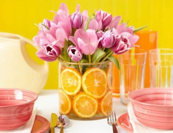 Creative Mothers Day Table Centerpiece Decoratio_19