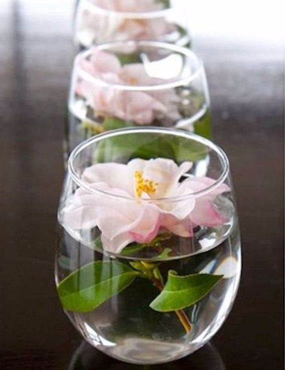 Romantic Room Setting: Creative Mothers Day Table Centerpiece Decoration Ideas