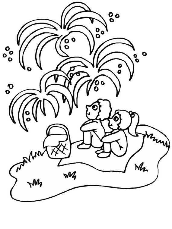 Canada Day Coloring Pages family