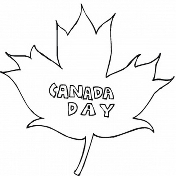 Canada Day Coloring Pages _15