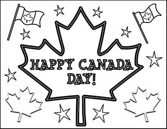 Canada Day Coloring Pages _18
