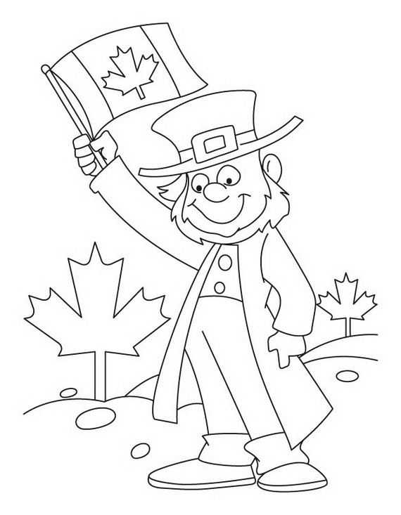 Canada Day Coloring Pages _37
