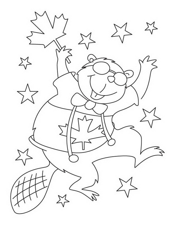 Canada Day Coloring Pages _39