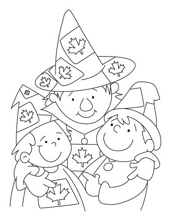 Canada Day Coloring Pages _42
