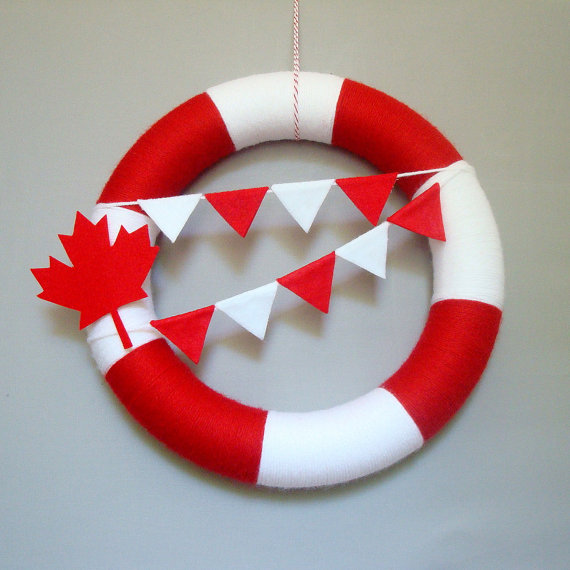 Canada Day Red and White Craft Ideas_15