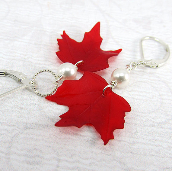 Canada Day Red and White Craft Ideas_27