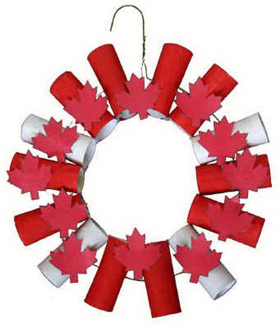 Canada Day Red and White Craft Ideas_44