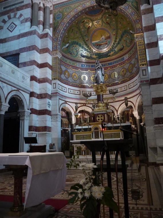 Catholic Basilica of Notre-Dame de la Garde Marseille's Queen of Hearts _03