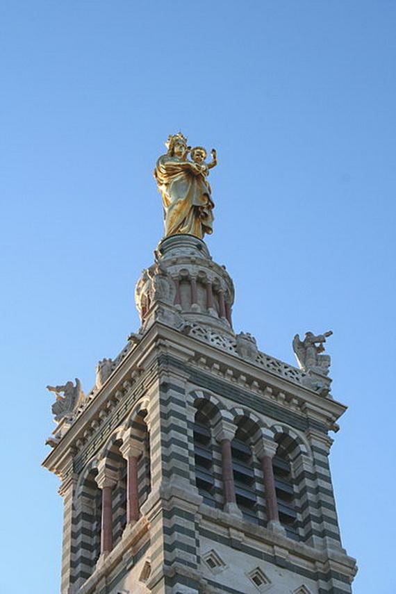 Catholic Basilica of Notre-Dame de la Garde Marseille's Queen of Hearts _05