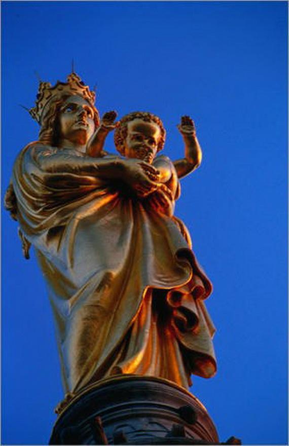 Catholic Basilica of Notre-Dame de la Garde Marseille's Queen of Hearts _06