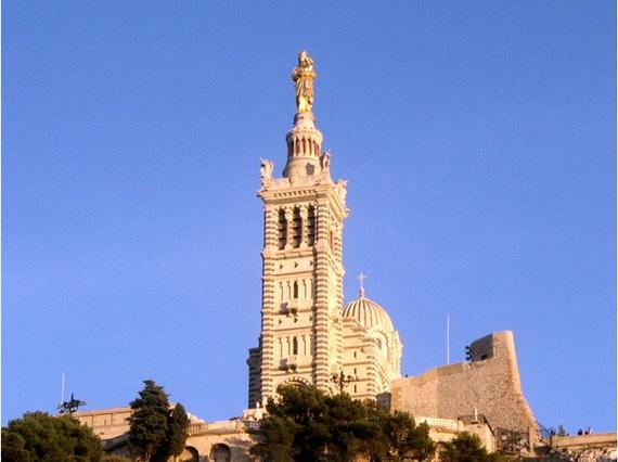 Catholic Basilica of Notre-Dame de la Garde Marseille's Queen of Hearts _08