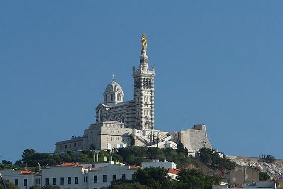 Catholic Basilica of Notre-Dame de la Garde Marseille's Queen of Hearts _11