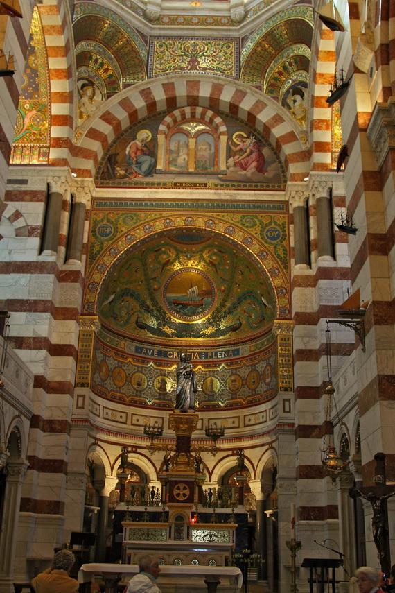 Catholic Basilica of Notre-Dame de la Garde Marseille's Queen of Hearts _12