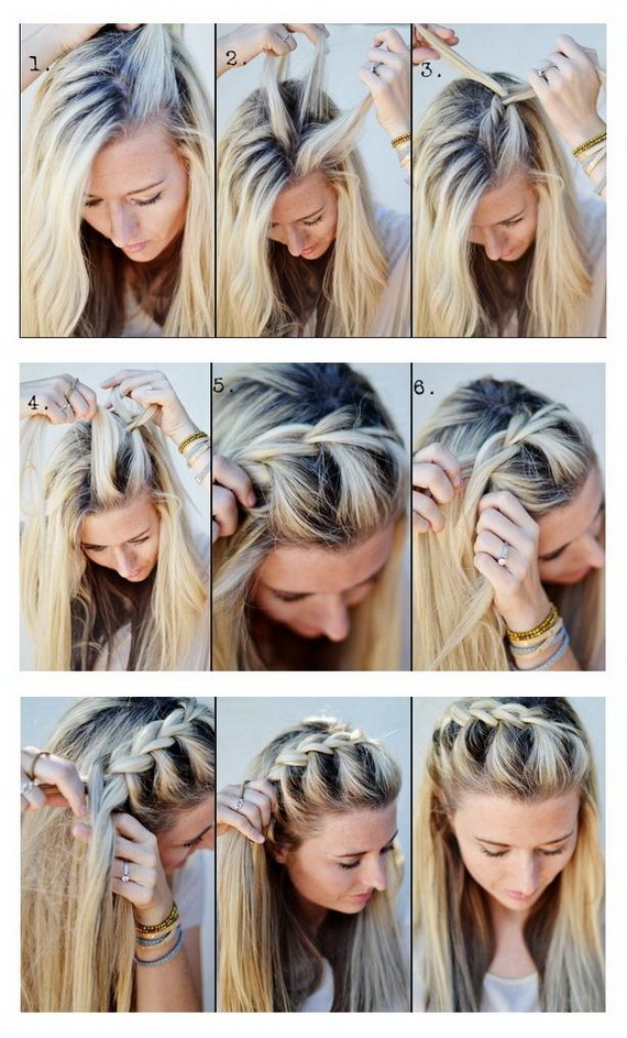 Do-It-Yourself Stylish Summer Hairstyles _1