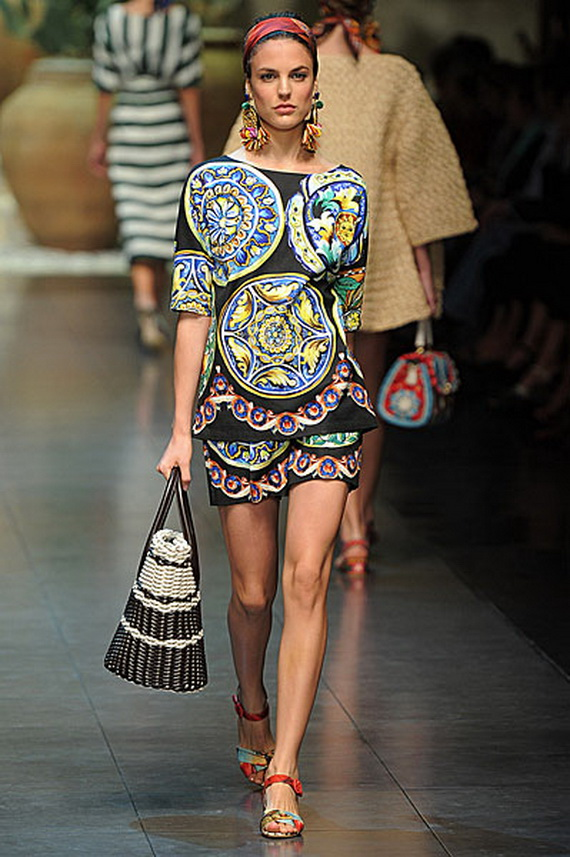 Dolce & Gabbana Spring Summer Holiday Fashion  2013_08