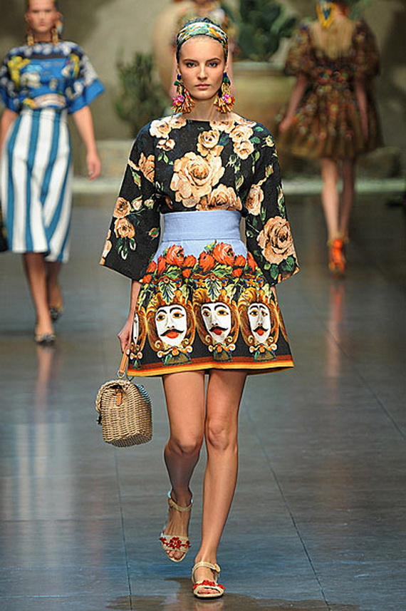 Dolce & Gabbana Spring Summer Holiday Fashion  2013_09
