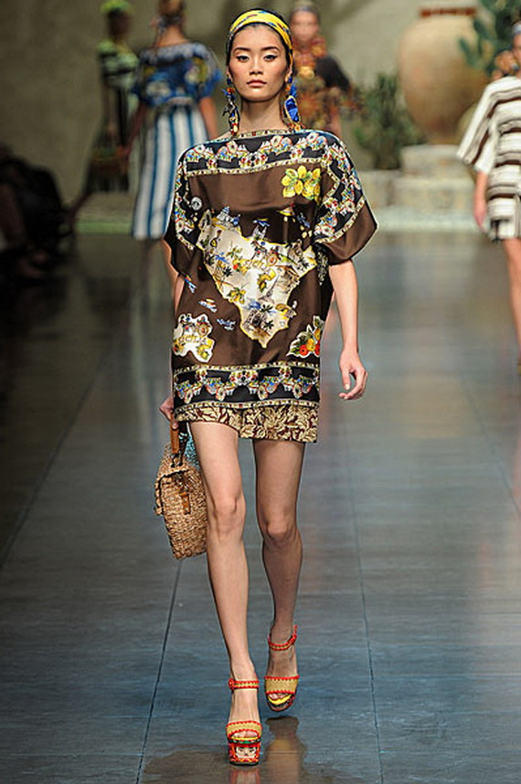 Dolce & Gabbana Spring Summer Holiday Fashion  2013_10