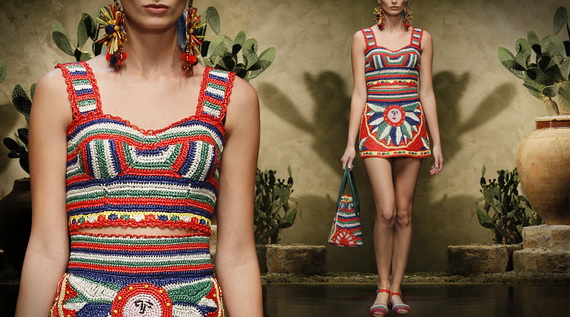 Dolce & Gabbana Spring Summer Holiday Fashion  2013_14