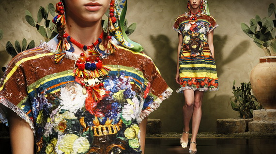 Dolce & Gabbana Spring Summer Holiday Fashion  2013_20
