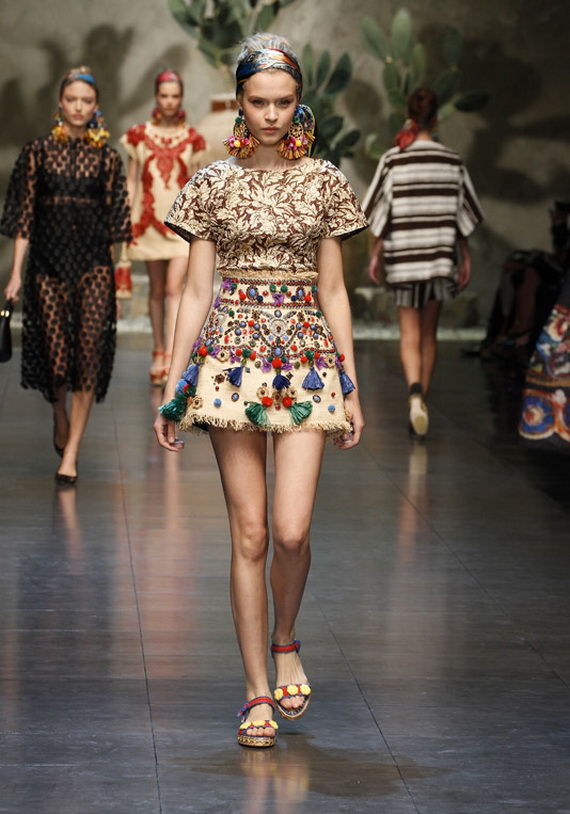 Dolce & Gabbana Spring Summer Holiday Fashion  2013_24