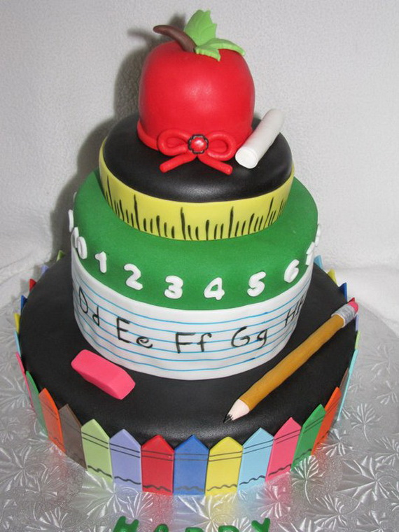 Back to School Cake and Cupcake Ideas - family holiday.net ...