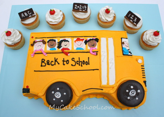 Back to School Cake and Cupcake Ideas_21