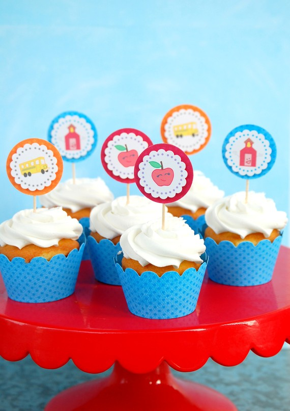 Back to School Cake and Cupcake Ideas_28