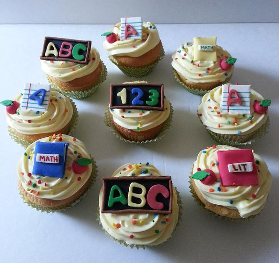 Back to School Cake and Cupcake Ideas_36