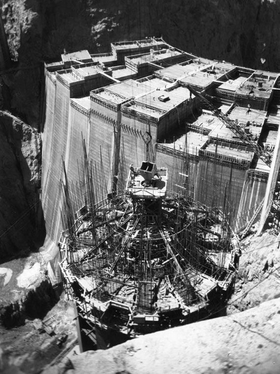 Construction History of Hoover Dam-