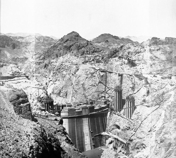 Hoover Dam Construction 1934