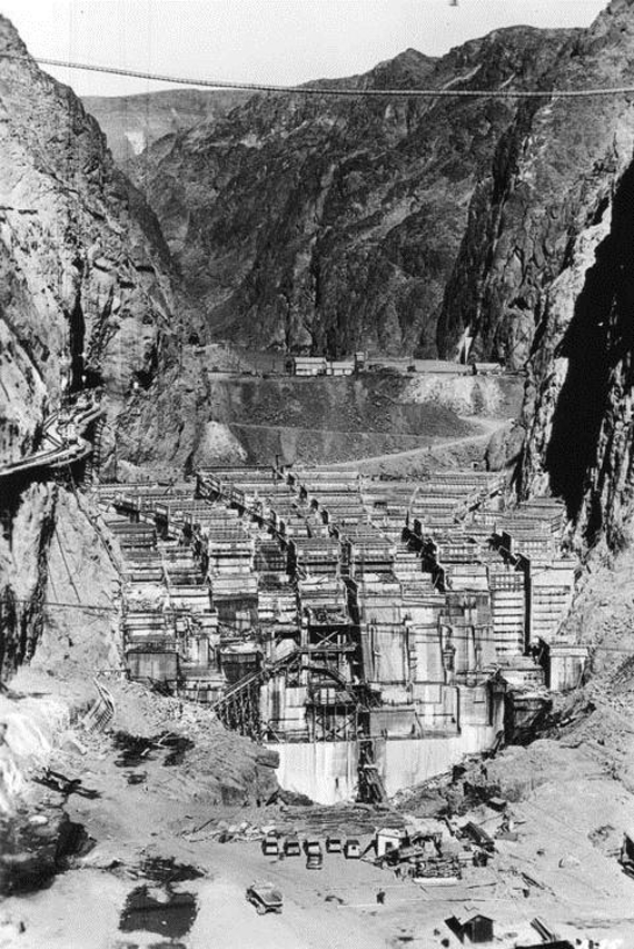 Construction History of Hoover Dam _3