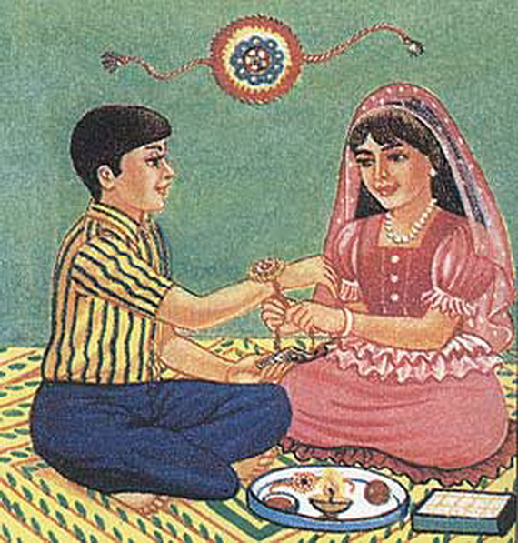 Raksha Bandhan  Rakhi History and Origin _15