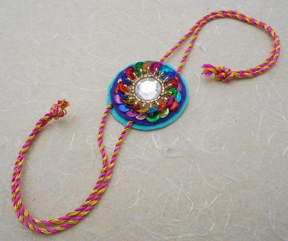 Traditional Rakhi Styles and designs on Raksha Bandhan _05