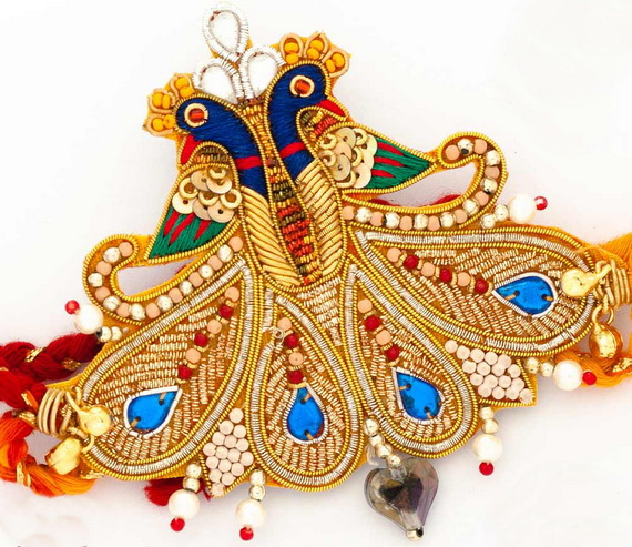 Traditional Rakhi Styles and designs on Raksha Bandhan _09