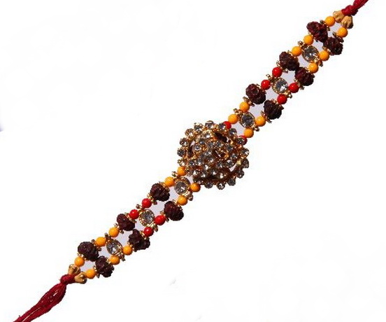 Traditional Rakhi Styles and designs on Raksha Bandhan _12