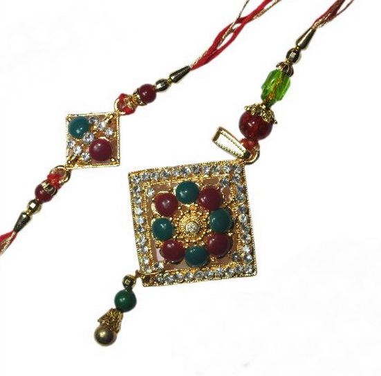 Traditional Rakhi Styles and designs on Raksha Bandhan _17