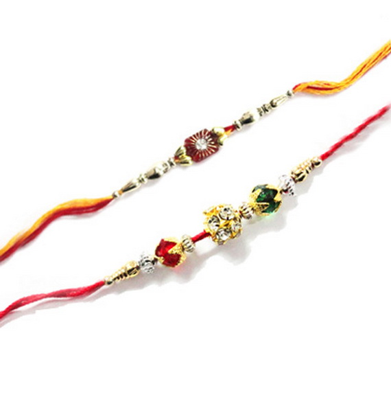 Traditional Rakhi Styles and designs on Raksha Bandhan _19