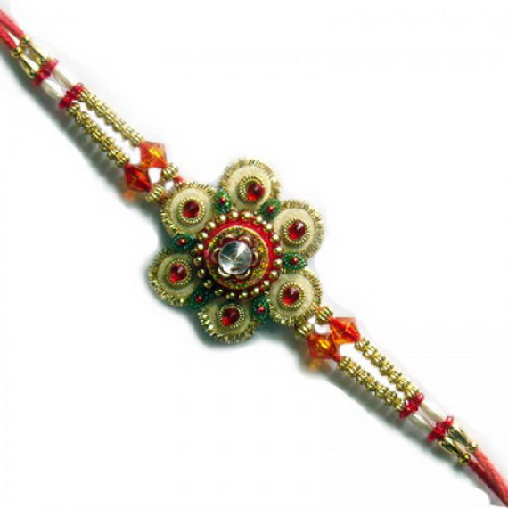 Traditional Rakhi Styles and designs on Raksha Bandhan _20